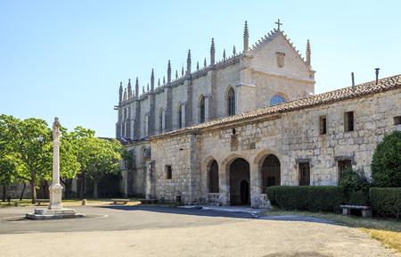 Carthusian monastery, Cartuja de miraflores monastery in Burgos  Spain