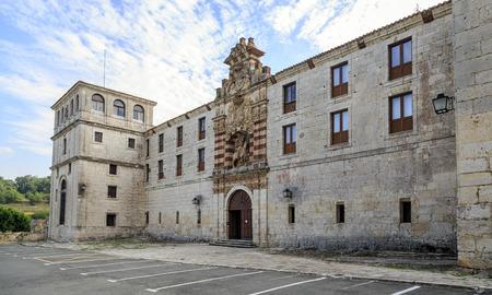 religiosity: San pedro de cardena in Burgos, Spain Stock Photo