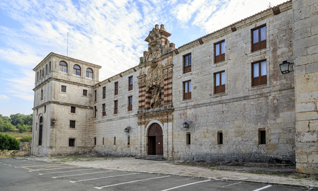 cid: San pedro de cardena in Burgos, Spain Stock Photo