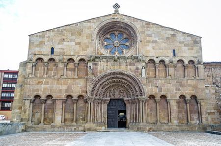 santo domingo: Romanesque church of Santo Domingo in Soria, Castilla-Leon, Spain