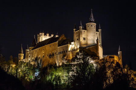 Alcazar of Segovia, Castilla y Leon, Spain.  photo