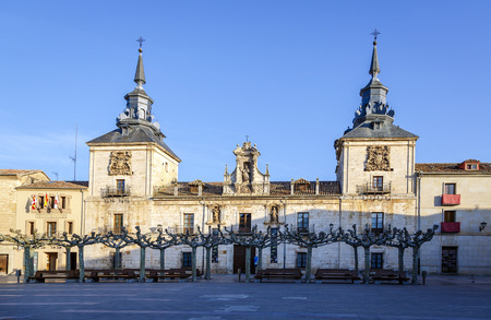 turism: Old Hospital of Burgo de Osma, Soria, Spain. Today is the turism office