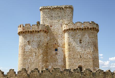 castilla leon: Turegano Castle,Castillo de Turegano  in Segovia province, Castilla Leon, central Spain  Editorial