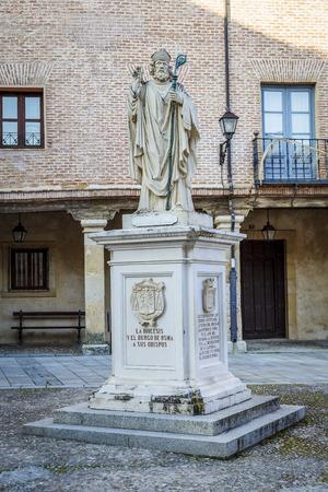 theologians: Memorial Burgo de Osma, Soria, his bishops, Spain