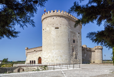 Castle of Arevalo in Avila, Castilla y Leon, Spain