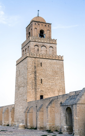 Great Mosque of Kairouan in Tunisia photo
