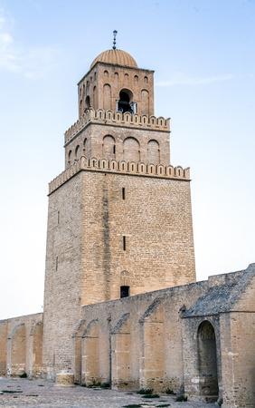coran: Great Mosque of Kairouan in Tunisia