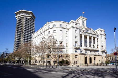 building sector: Sector Naval de Catalunya - government building in Barcelona, Catalonia Spain