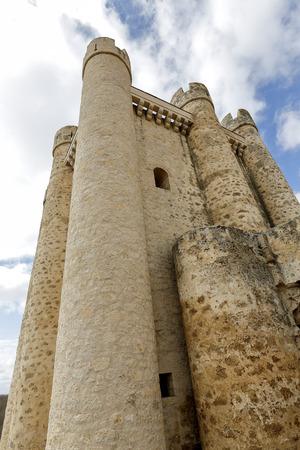 castilla y leon: Castle at Valencia de Don Juan, Castilla y Leon, Spain
