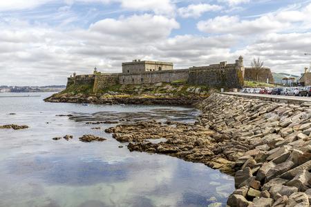 anton: San Anton castle,A Coruna,Galicia,Spain