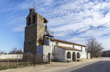 castile and leon: Villafale parish church in the municipality of Villasabariego in the province of Leon, autonomous community of Castile and Leon.