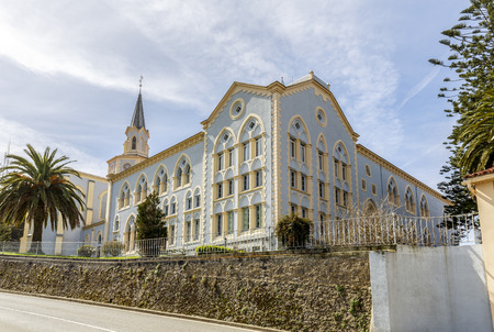 founded: Viaceli Abbey (founded by the brothers Quiros). in Cobreces, Cantabria, Spain