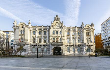 santander: City hall of Santander, Cantabria, Spain