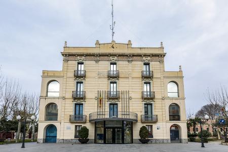 council: City Council Olesa de Montserrat, Barcelona Catalonia, Spain, located in the region of Bajo Llobregat