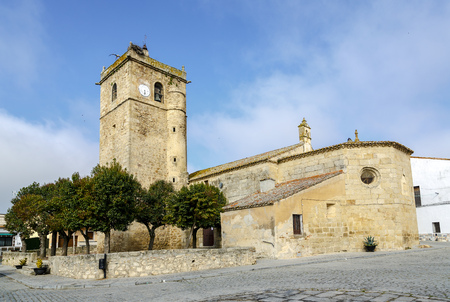 cano: Aldea del Cano Church of St. Martin of Tours, Caceres, Spain autonomous community of Extremadura