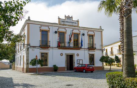 mayoral: Aldea del Cano Town Hall, is a Spanish municipality in the province of Caceres, Extremadura.