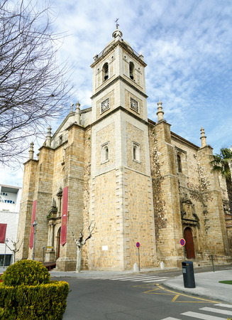santiago: Parish Church of Santiago in Don Benito, Extremadura Caceres Spain Stock Photo