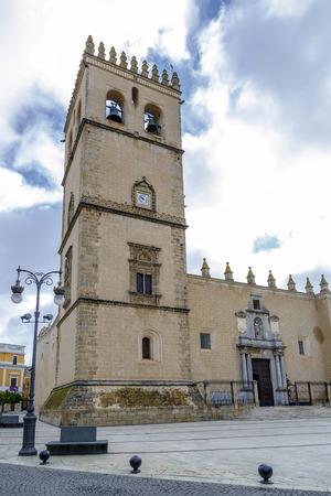 badajoz: Badajoz Cathedral, San Juan Bautista, Extremadura Spain