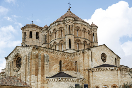 zamora: Romanesque Cathedral in the town of Toro, Zamora Spain