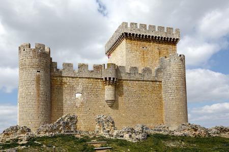 castile: Castle of Villalonso, Castile and Leon, Zamora Spain
