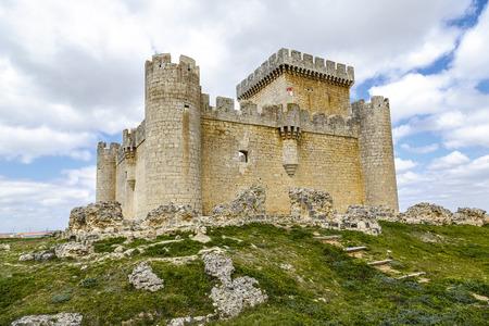 castile leon: Castle of Villalonso, Castile and Leon, Zamora Spain