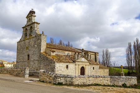 Valley Church in Barruelos, Barruelos del Valle, province of Valladolid. Spain
