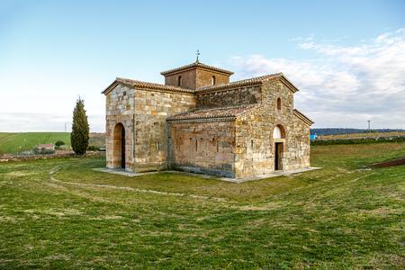 san pedro: church Visigoth San Pedro de la Nave, El Campillo, municipality of San Pedro de la Nave-Almendra, Zamora Spain. Declared National Monument in 1912