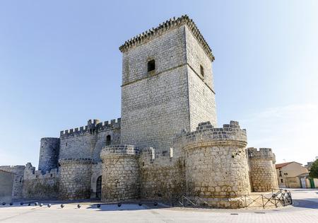 portillo: castle built in the XV century, located in the town of Portillo in the province of Valladolid Castile and Leon, Spain Editorial