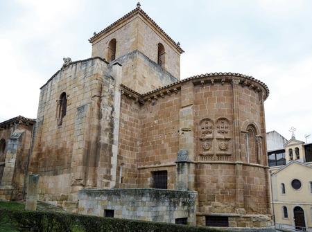 Church of San Juan de Rabanera, Castilian Romanesque monument that the city of Soria, Spain