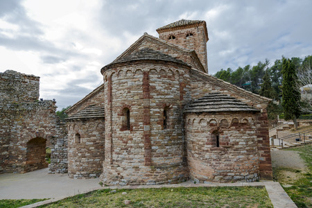 uncompleted: Sant Andreu de Castellnou is a Romanesque church in the municipality of Castellnou de Bages, is an unfinished work the architectural Heritage Inventory of Catalonia. XI century