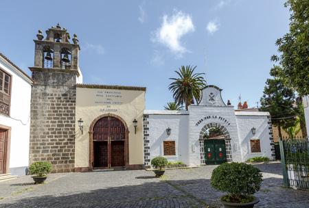 christ holy shrine La Laguna Tenerife Canary Island  Spain