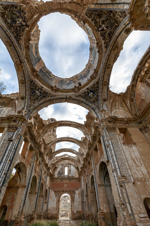Belchite is a town in the province of Zaragoza Spain. Is known to have been the scene of one of the symbolic battles of the Spanish Civil War, the Battle of Belchite. Now it is abandoned. Editorial
