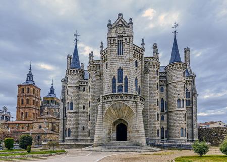episcopal: Episcopal Palace in Astorga, Spain