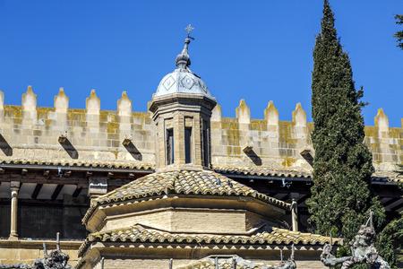 Cimborrio of the church of the Savior, Ejea de los Caballeros, Saragossa Spain