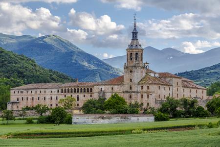 輸送、サン ミジャン ユソ、ラ ・ リオハ州、スペイン、ユネスコ世界遺産の修道院