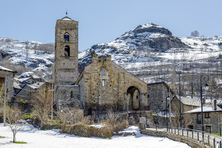 Roman Church of the Nativity of the Mother of God of Durro (Catalonia - Spain). This is one of the nine churches.