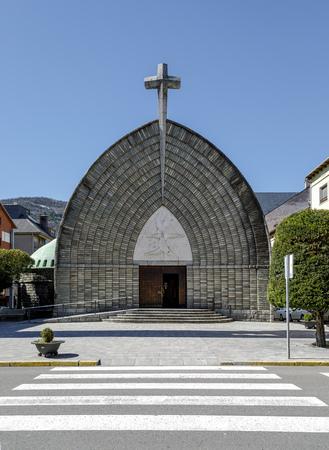 New Church of the Parish Assumption of Pont de Suert, Catalonia Spain