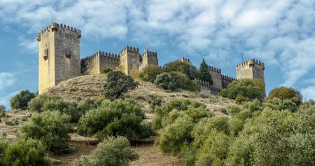 アルモドバル ・ デル ・ リオ、コルドバ スペイン。芸術と記念碑的な遺産