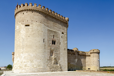 Castle of Arevalo in Avila, Castilla y Leon, Spain Editorial