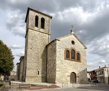parish: Parish Church of Pedrajas de San Esteban Valladolid, Spain
