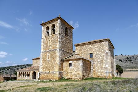 san miguel arcangel: Iglesia de San Miguel Arcángel en la provincia andaluza de Soria, España