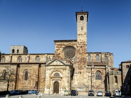 St Mary Cathedral of Siguenza Guadalajara province Castilla-La Mancha Spain Stock Photo