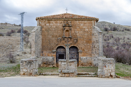 Hermitage, of the Humilladero in Medinaceli. Soria Castilla-Leon Spain