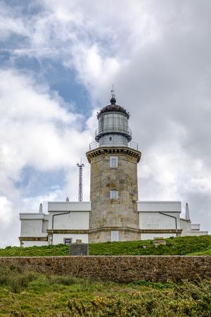 lighthouse at Matxitxako, Cape Bermeo, Vizcaya, Basque Country, Spain Stock Photo
