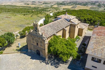 Basilica of Our Lady of the Yugo in Navarre, Spain