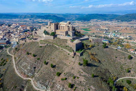 Cardona castle is a famous medieval castle in Catalonia. Now it is a famous state run hotel or parador Spain.