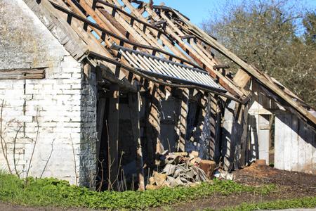 Decay house Stock Photo