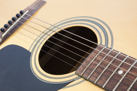 solo form: musical background image of guitar Stock Photo