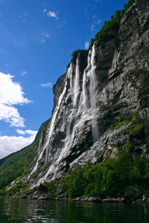 fiord: The Geiranger fjord