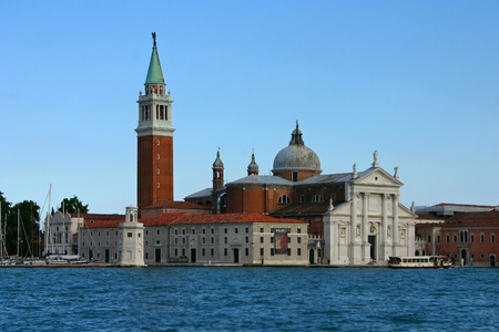 San Giorgio Maggiore in the beautiful and romantic Venice